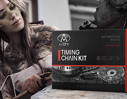 Automotive parts, packaging design