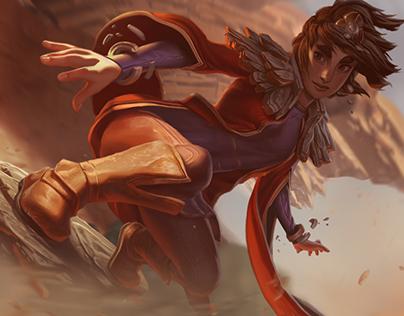 Taliyah - League of Legends - Login Screen