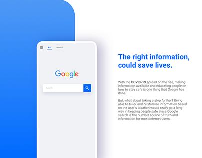 Google help - COVID-19