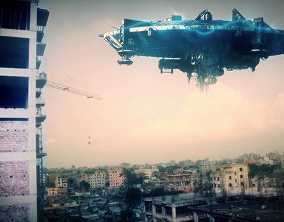 UFO SpaceShip Seen In Dhaka !!!? Visual FX