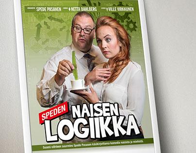 Speden naisen logiikka - event posters