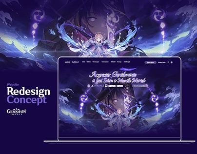 Genshin Impact redesign concept