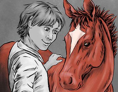 """War Horse"" Illustrations"