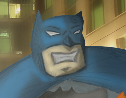 Batman Dark Knight - speed paint