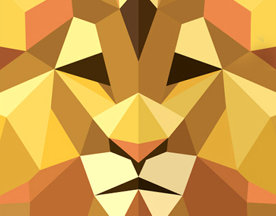 Set of Polygons Logos Animals 2015 / 2016