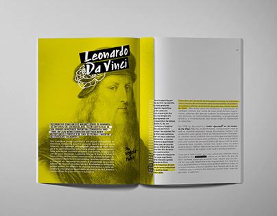 Leonardo Da Vinci - Editorial