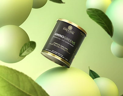 Amino Greens Essential Nutrition CGI