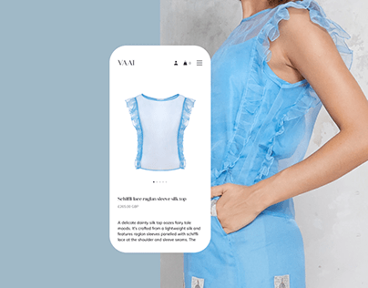 VAAI — brand of women's clothing. E-commerce