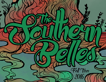 Southern Belles Fall Tour Poster