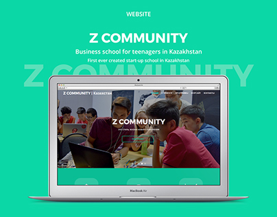 Z COMMUNITY - website design