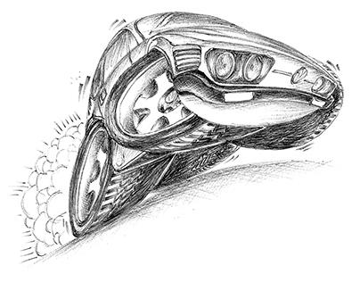 Carros em cartoons