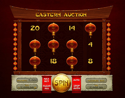 """Online slot machine for SALE – """"Eastern Auction"""""""