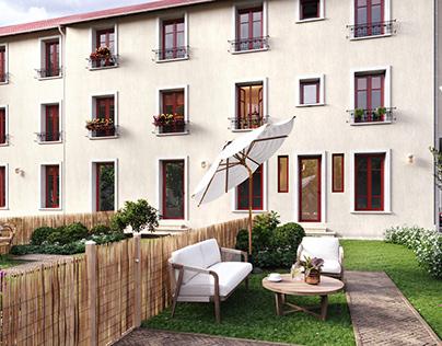 Apartments Vichy facade