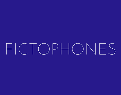 Fictophones - A Series of Musical Creatures
