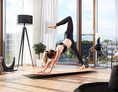 Yogaboard - Produktfotografie