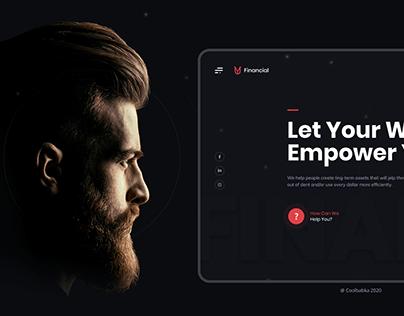 Y-U Financial Company Web Design