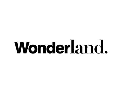 Wonderland Magazine Redesign