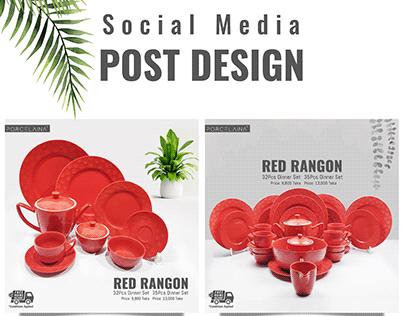 Ceramic Product social media post