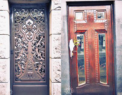 Cemetery doors II