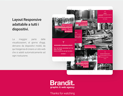 Web site One Page - Brandit