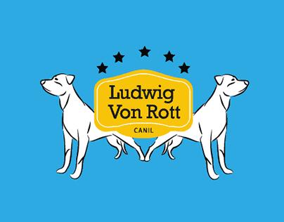 Identidade visual - Canil Ludwig Von Rott