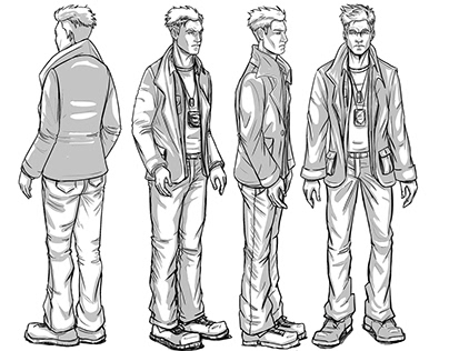 Reilly Stanton Character Design: City of Sirens