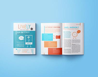 LIVELY   Children's Magazine - 002