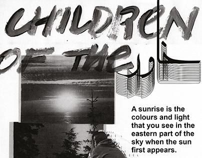 Children Of The Sun/East - zine