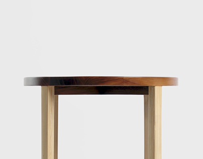 U Round Side Table
