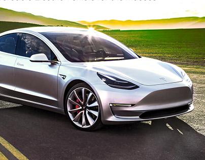 Tesla Model 3 Ad Campaign