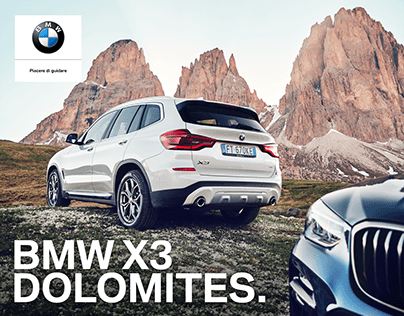 BMW X3 Shots / Hero Dolomites [We Are Social]