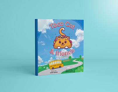 Book Design   Taco Cat & friends