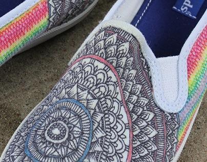 ::For My Sunflower - Shoe Design::