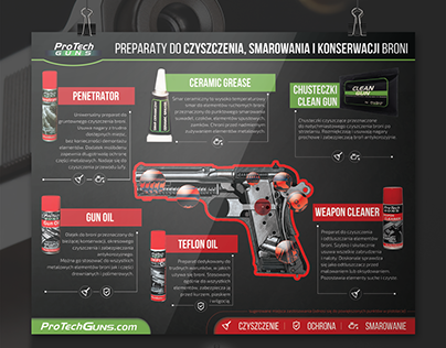 Infographic gun