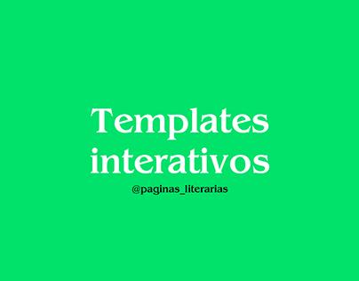 Template Interativo - Stories