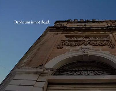 Orpheum is not dead.