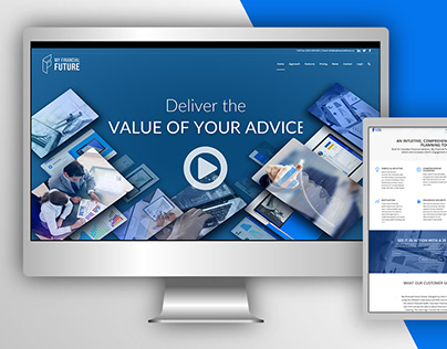 My Financial Future-Branding Web Design
