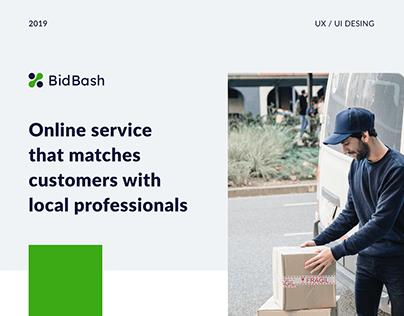 Online service BidBash
