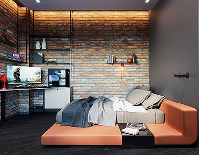 Bedroom for a teenager