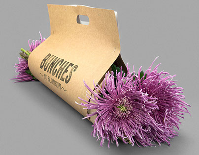Bunches by Blomrum   Packaging