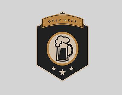 ONLY BEER (BREWERY & PUB) /// corporate branding