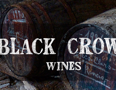 Black Crow Wines Identity