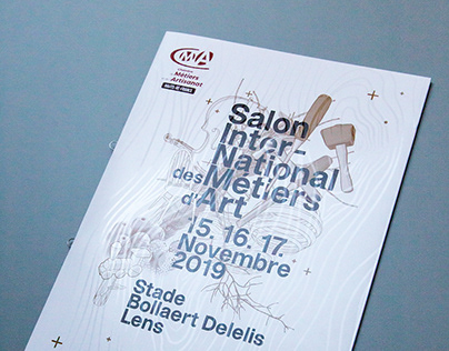 Brochure Salon International des Métiers d'Art