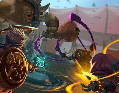 Battle for the Orb - Battlerite [Fan Art]