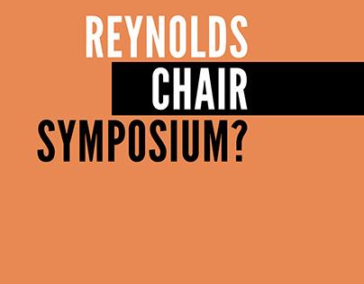 Reynold's Chair Symposium