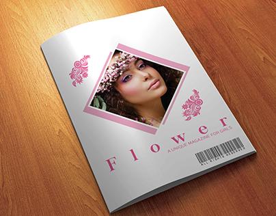 12 Pages A4 size Minimal Woman Fashion Magazine Templat