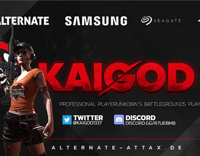 Stream Overlay for kaiGOD