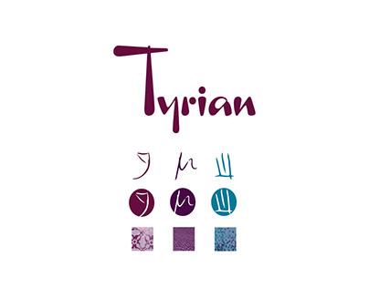 Tyrian Wine Branding