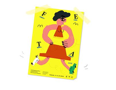 FETA 2019 - poster for festival