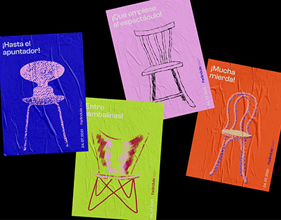 Farándula Theatre Festival - Visual Identity